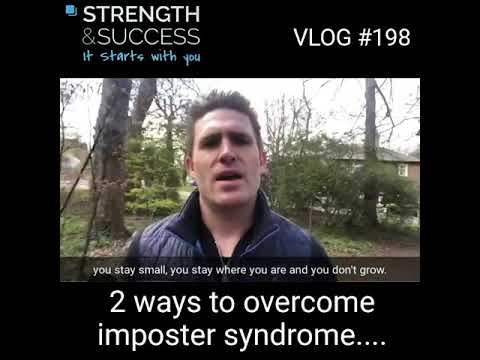 VLOG 198 – 2 Ways To Overcome Imposter Syndrome