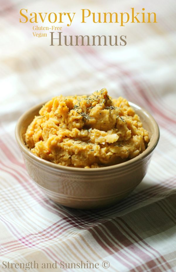 @RebeccaGF666 From dipping to scooping, spreading to mixing in, hummus is one versatile food. This gluten-free and vegan savory pumpkin hummus is the perfect flavor for all you fall snacking, cooking, and tailgating!