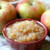 Slow Cooker Applesauce | Easy, Simple, No Added Sugar