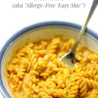 Microwave Gluten-Free + Vegan Mac & Cheese For One (Allergy-Free 'Easy Mac')