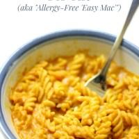 Microwave Gluten-Free + Vegan Mac & Cheese For One (Allergy-Free 'Easy Mac')