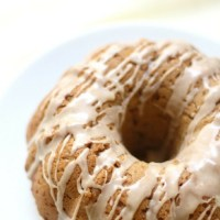 Gluten-Free Apple Butter Bundt Cake with Cinnamon Glaze (Vegan, Allergy-Free)