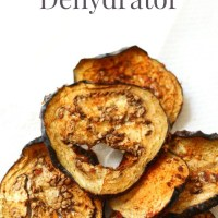 How-To Make Eggplant Bacon In Your Dehydrator