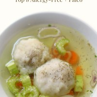 Easy Gluten-Free + Vegan Matzo Ball Soup (Allergy-Free, Paleo)