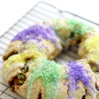 New Orleans Gluten-Free King Cake (Vegan, Allergy-Free)
