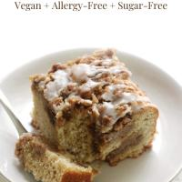 Gluten-Free Coffee Cake with Cinnamon Streusel (Vegan, Allergy-Free)
