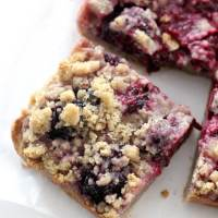 Gluten-Free Blackberry Crumb Bars (Vegan, Allergy-Free)