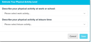 Physical Activity 1