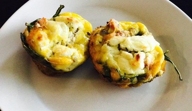 Healthy Hack – Smoked Salmon and Goat Cheese Egg Muffins
