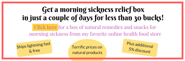 Get a morning sickness relief box shipped to your door FAST! From my favorite online health food store.