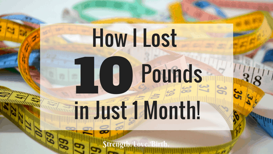 How I Lost 10 Pounds in January