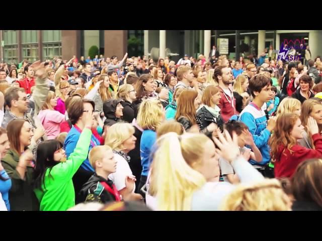 Muenster Flasht So Funklusiv Ist Muenster Deutschlands Groesster Inklusiver Flashmob