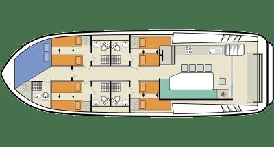 Horizon 5 Kabinenplan
