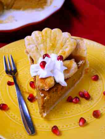 Nautical Pumpkin Pie