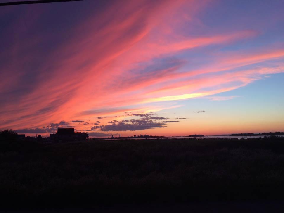 South shore sunset