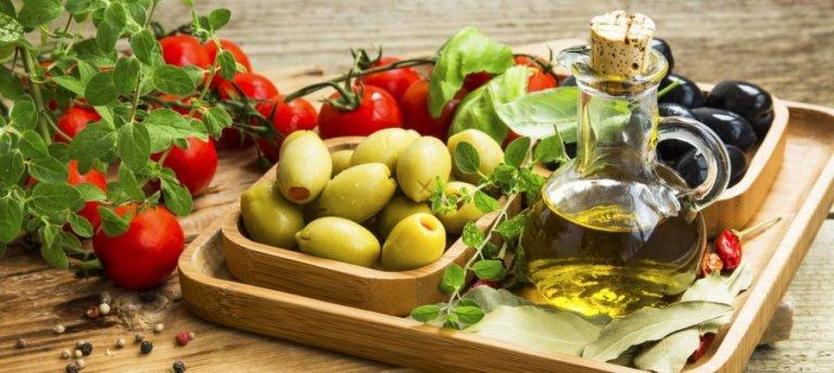 food in the mediterranean diet