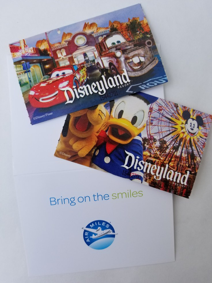 booking your trip to Disneyland: tickets