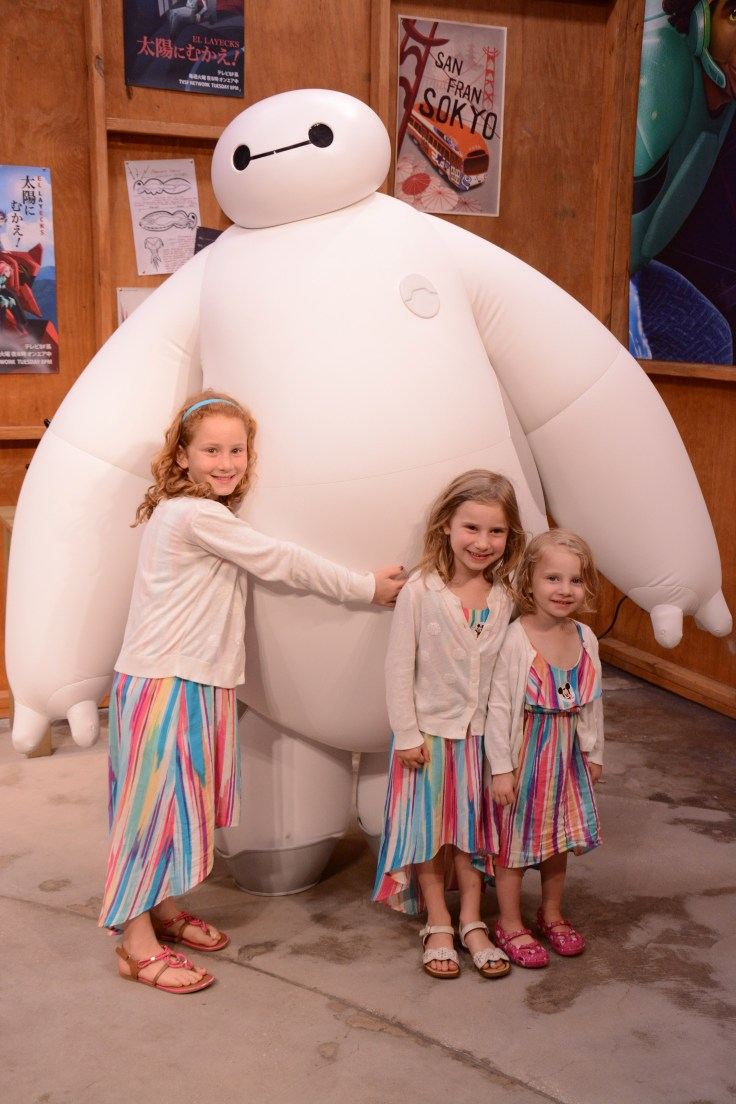 Epcot: meeting Baymax