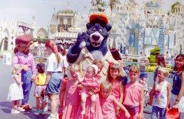 Klassen grandchildren Disneyland 1992 Small World