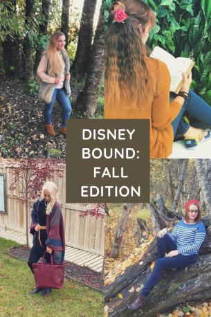 Disney bound fall edition