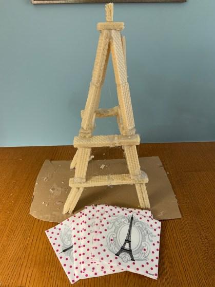 Eiffel Tower Craft