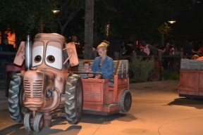 Tow mater tractor