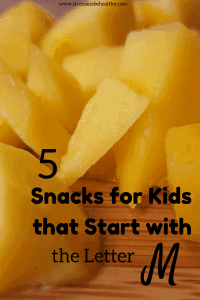 snacks that start with m