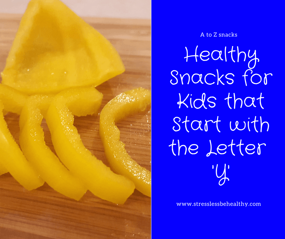 snacks that start with y, letter y snacks, alphabet snacks, snacks for kids, healthy snacks, healthy snacks for kids