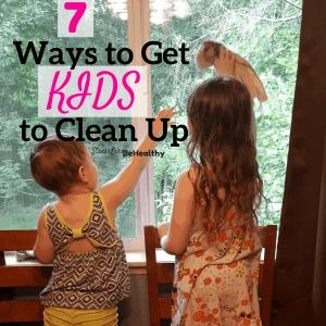 get kids to clean