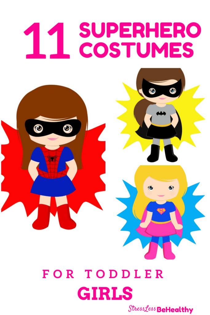 Toddler Girl Superhero Costumes