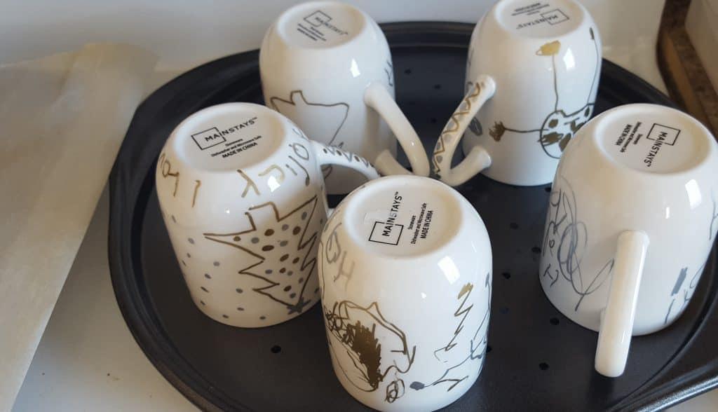 holiday mugs