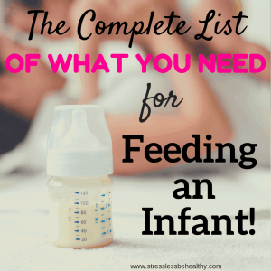 Wondering what you will actually need for feeding an infant? Find out what products you'll actually need and use here! From a mom of 2 and pregnant again.