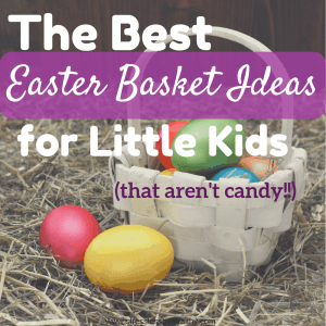 Looking for non food easter basket ideas for little ones? Check out these awesome, and cheap ideas for toddlers and for kids!
