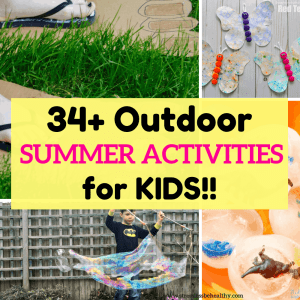 fun summer activity ideas for kids
