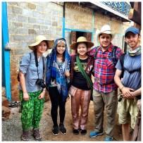 trekking buddies from Kalaw to Lake Inle