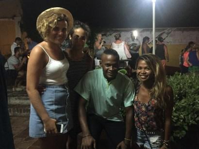 Salsa Class buddies at Trinidad