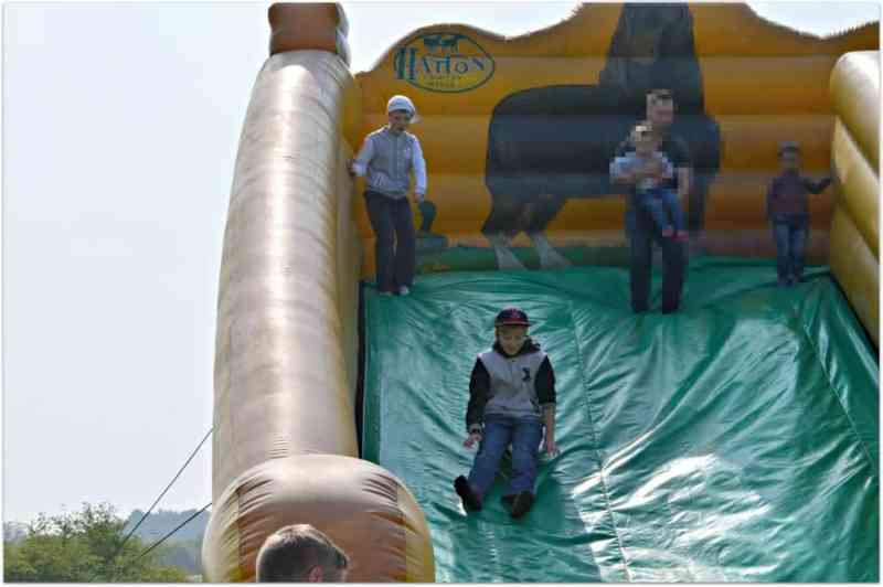 Inflatable Slide at Hatton Country World