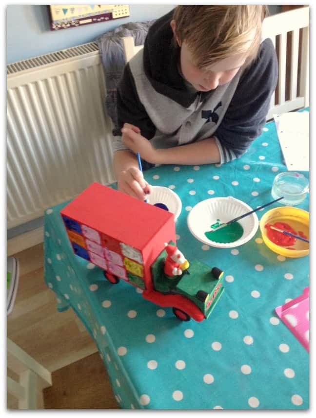 Creating a family advent calendar stressy mummy How to build a wooden advent calendar