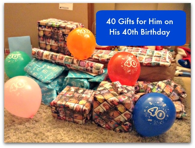 40 gifts for him