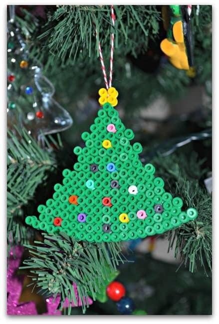 Hama Beads Christmas Decorations