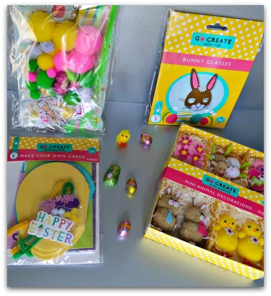 Easter Craft Packs from Tesco