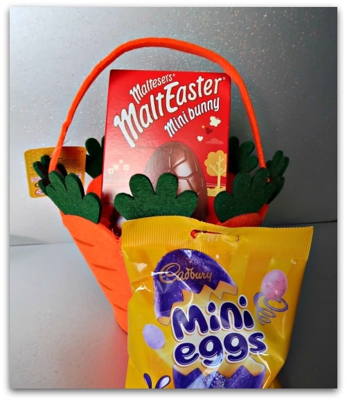 Easter hunt treats from Home Bargains