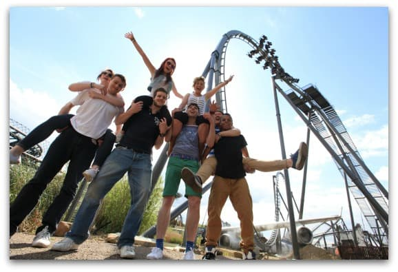 THORPE PARK - Teen Group THE SWARM-2