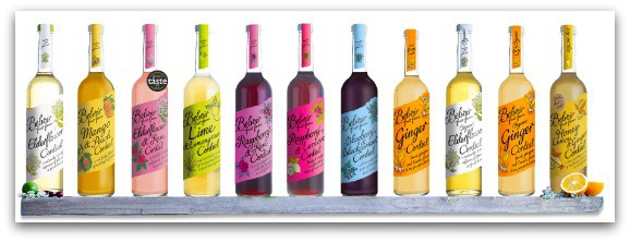 A selection of Belvoir Cordials
