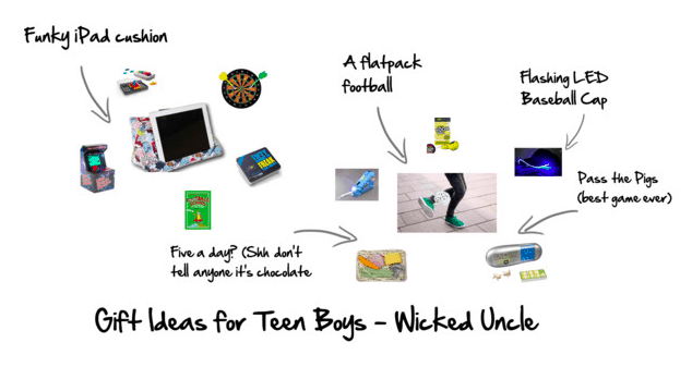 Finding the perfect gift for teen boys from Wicked Uncle