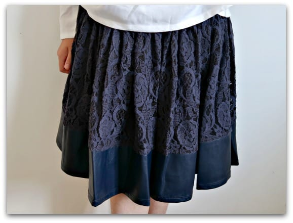 The Nora Lace Skirt from Angel & Rocket is a gorgeous heavy skirt, perfect for swirling in