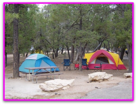 A weekend away camping can be a great weekend activity for spending quality time as a family