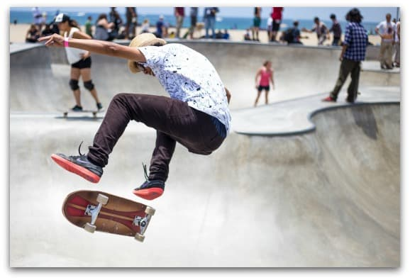 Skate boards make great gift ideas for teens