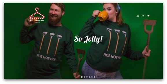 The Jolly Christmas Jumper Website