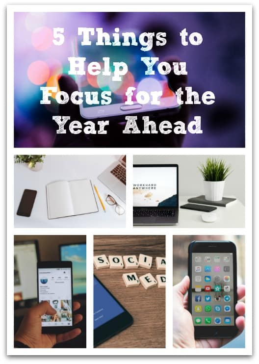 Here are my five top tips for helping to improve focus, create time and less distractions for the start of the new year